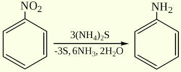 Реакция Зинина. Zinin reaction