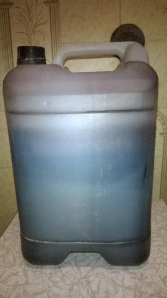 Серная кислота и полиэтилен. Sulfuric acid and polyethylene