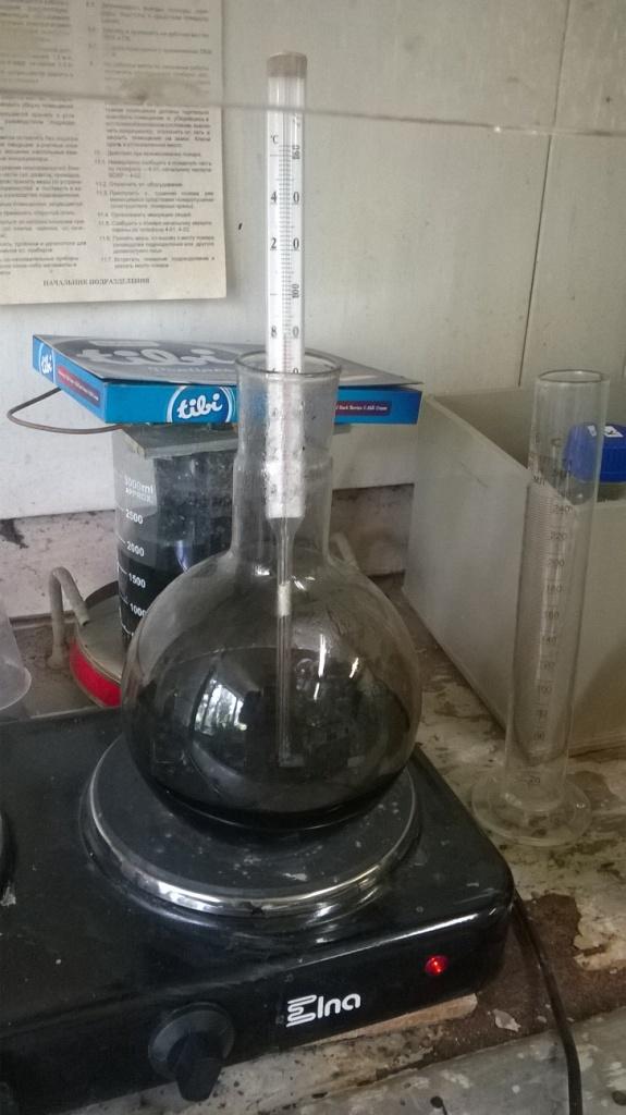 Приготовление концентрата активатора для металлизации пластика. Preparation of concentrate of activator for plastic metallization