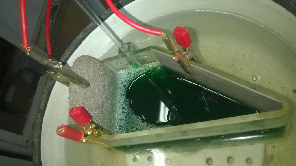 Ванна гальванического никеля. Galvanic nickel plating bath