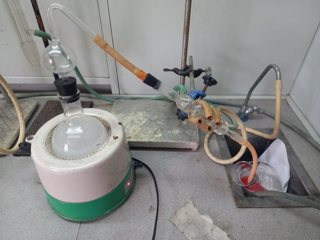 Определения белка в пшенице по методу Кьельдаля. Analysis of wheat protein by Kjeldahl method