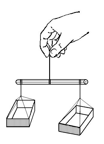 Поделка весы 3 класс из спичечных коробков