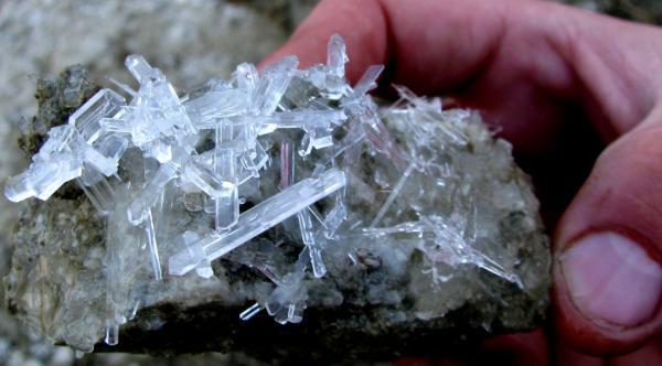 Мирабилит - природный сульфат натрия