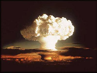 Взрыв водородной бомбы