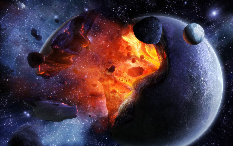 Взрыв планеты