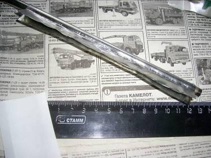 Изготовление трубки из листа жести