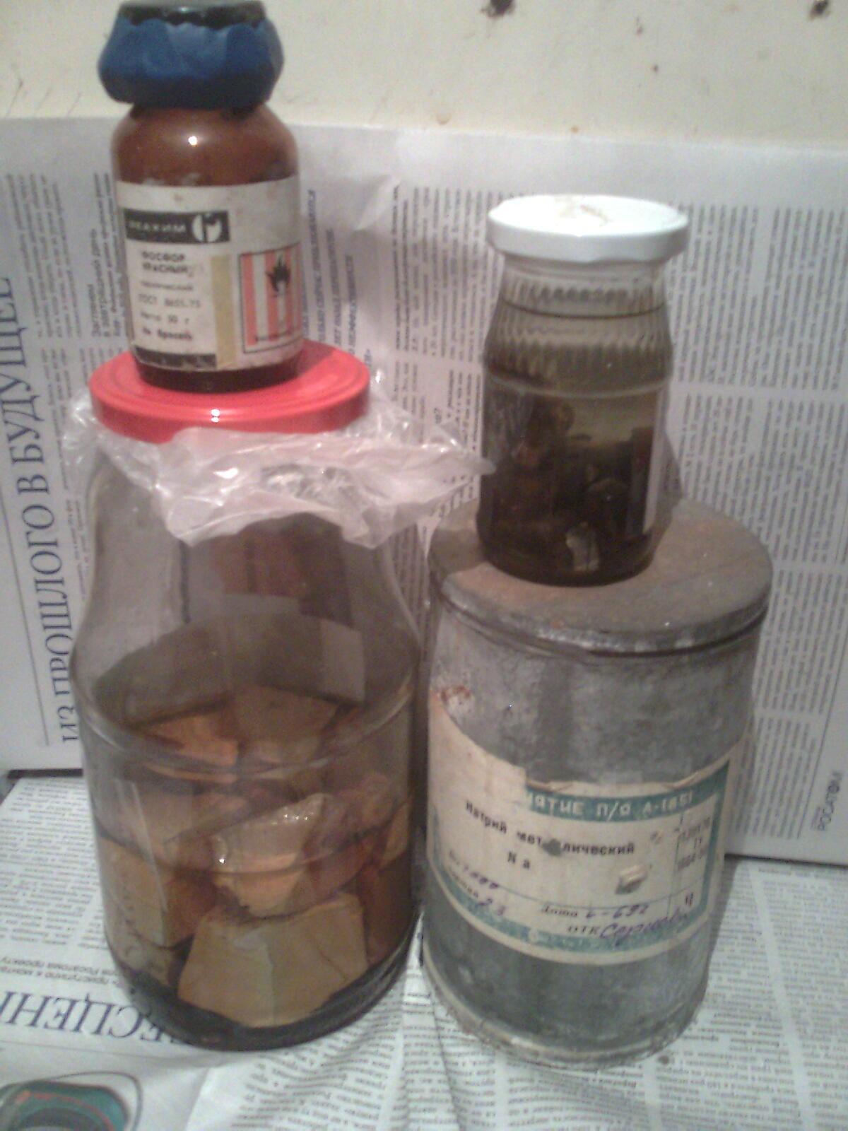 Натрий, калий и фосфор
