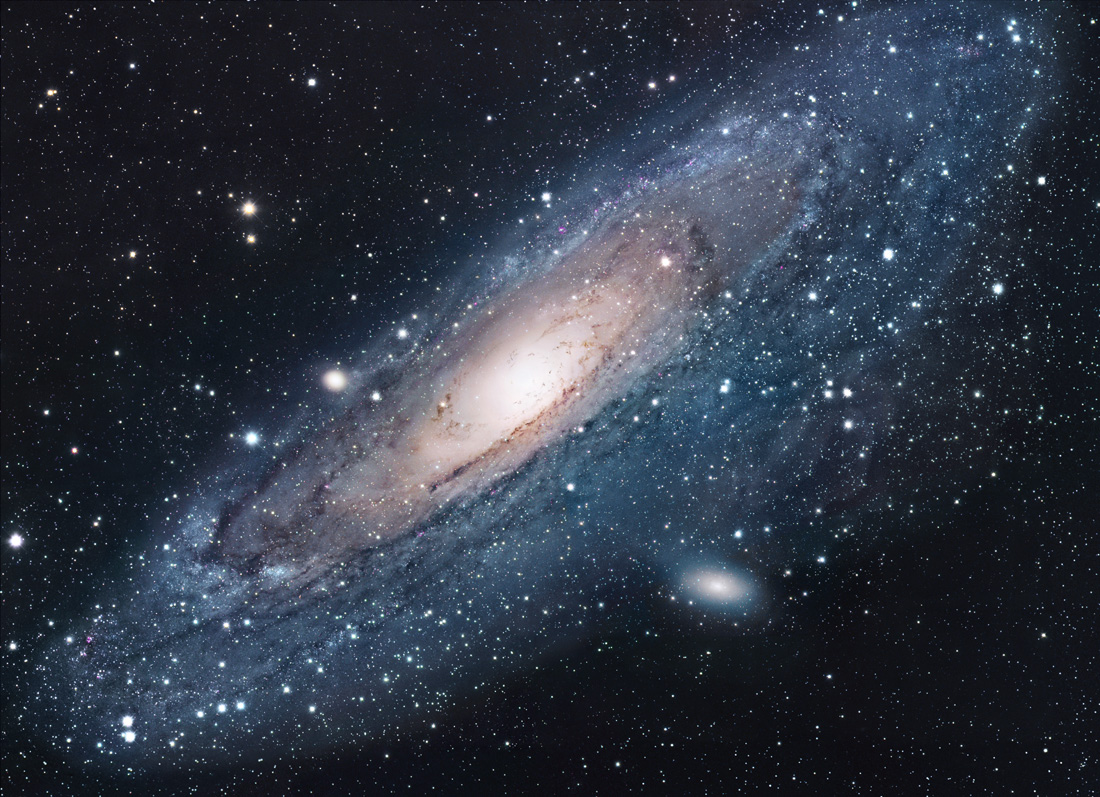 Галактика Андромеды (M31 , NGC 224)