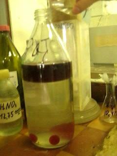 Гексан и хлороформ