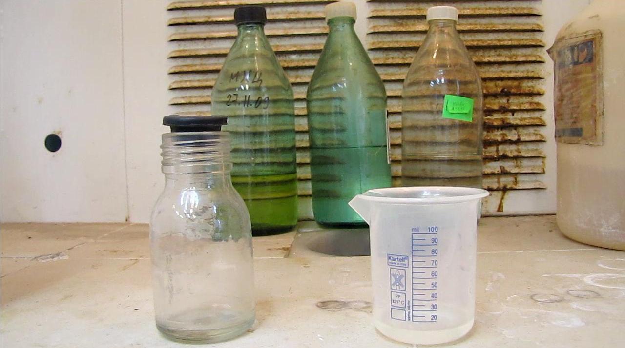 Плавиковая кислота и стекло