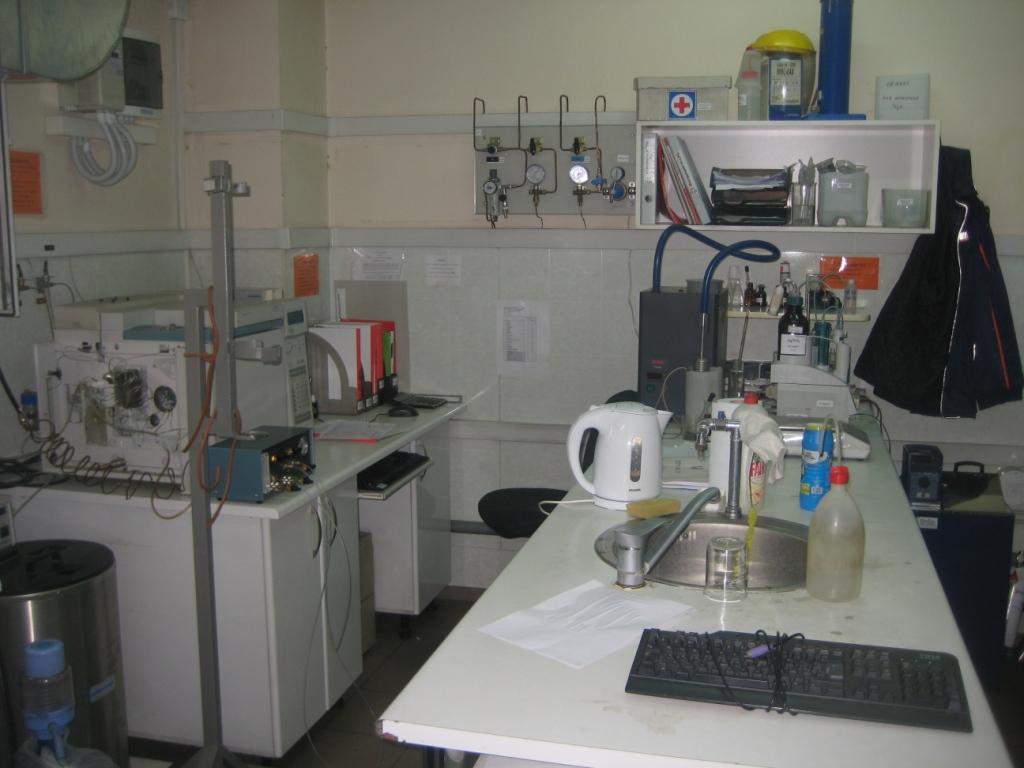 Лаборатория контроля качества газа