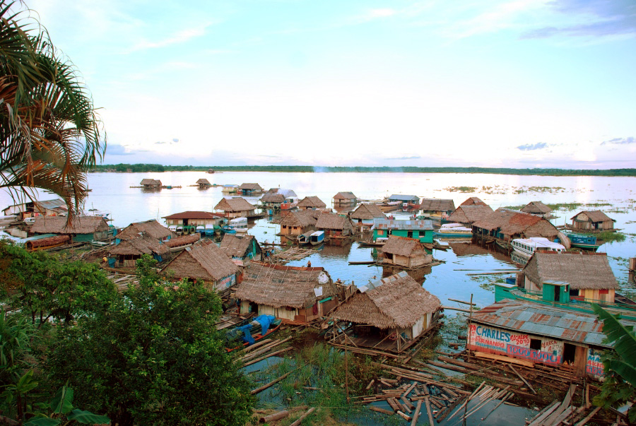 Амазонка - самая большая река планеты