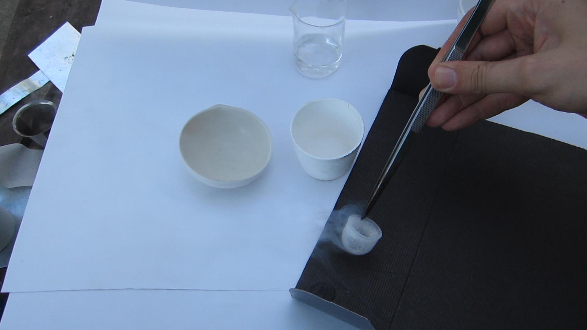 Замораживание и таяние этанола
