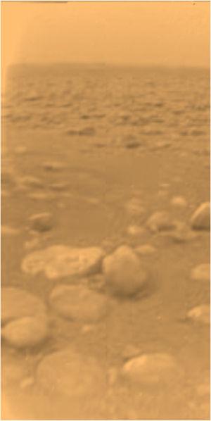 Поверхность Титана (спутник Сатурна)