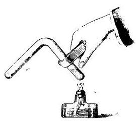 Получение жидкого хлора (опыт Фарадея)