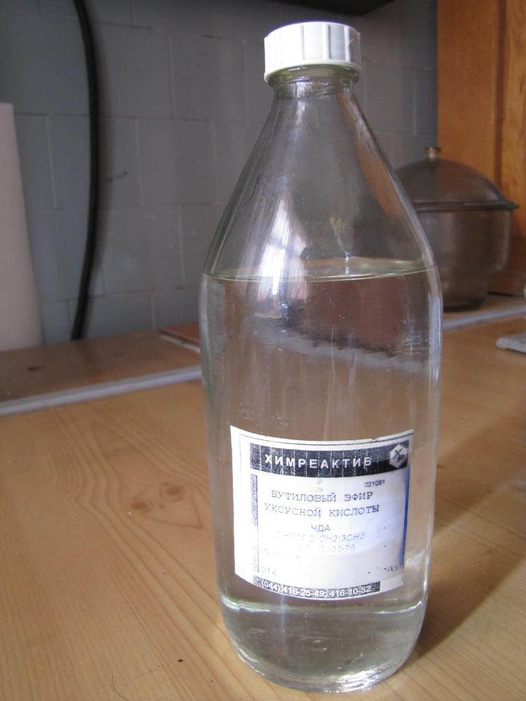 Бутиловый эфир уксусной кислоты (бутилацетат)