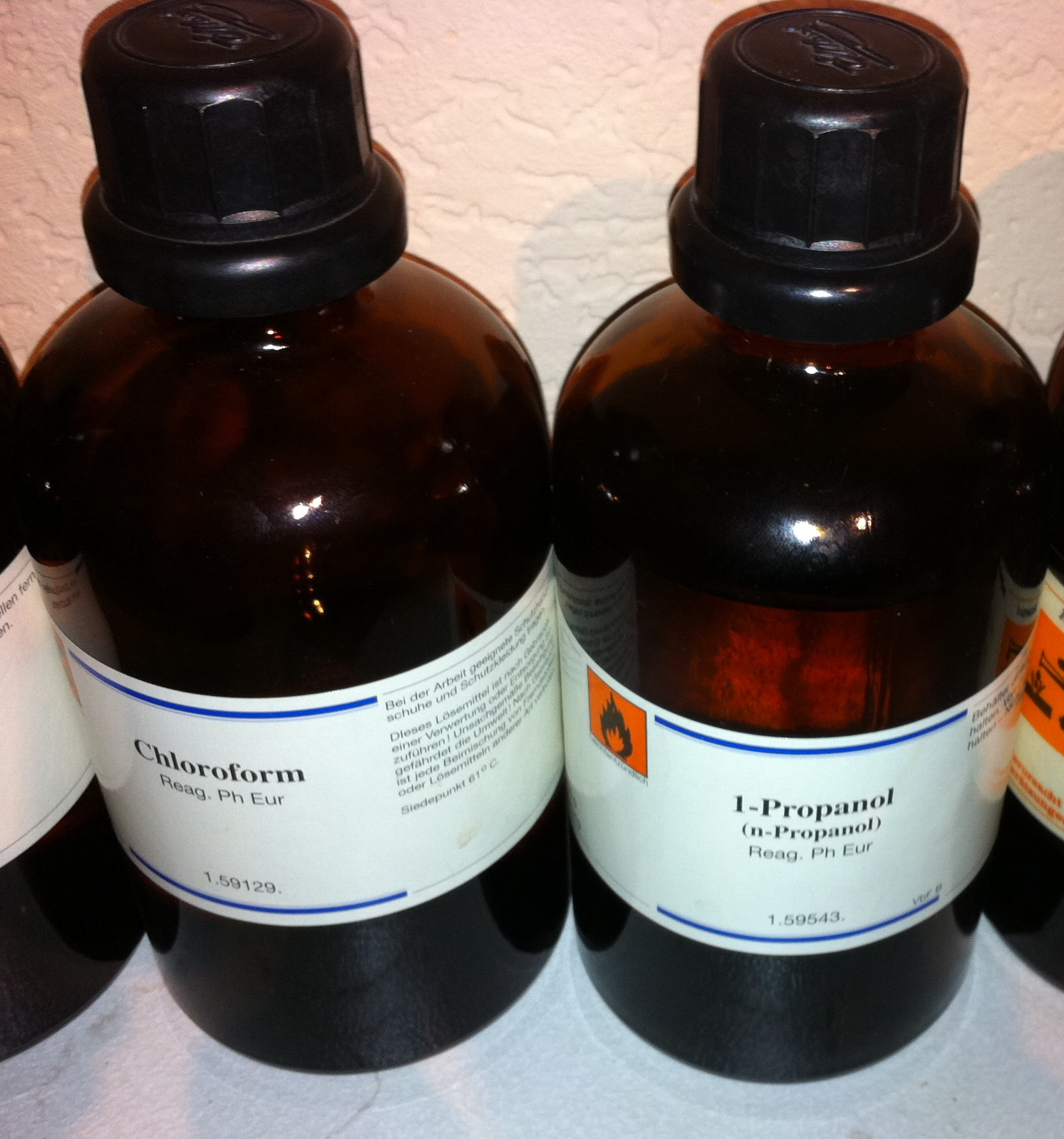 Хлороформ и 1-пропанол