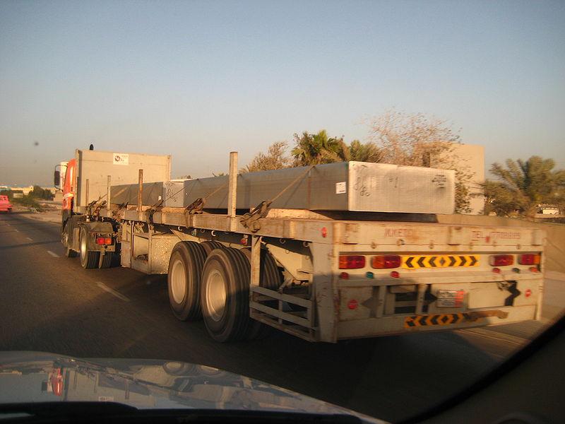 Транспортировка алюминиевых плит