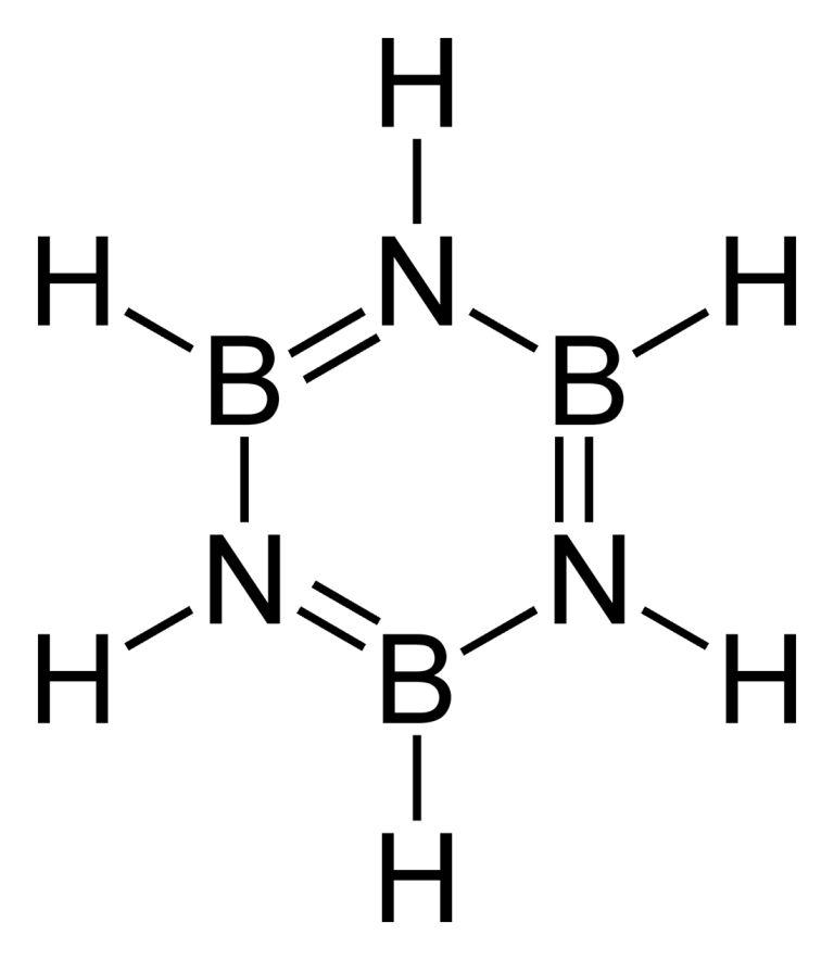 Структура боразола - ''неорганического бензола''