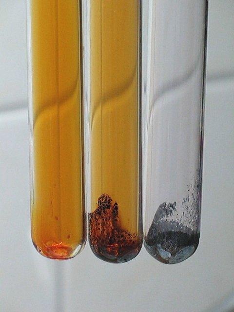 Бром, бромид иода (I) IBr и иод