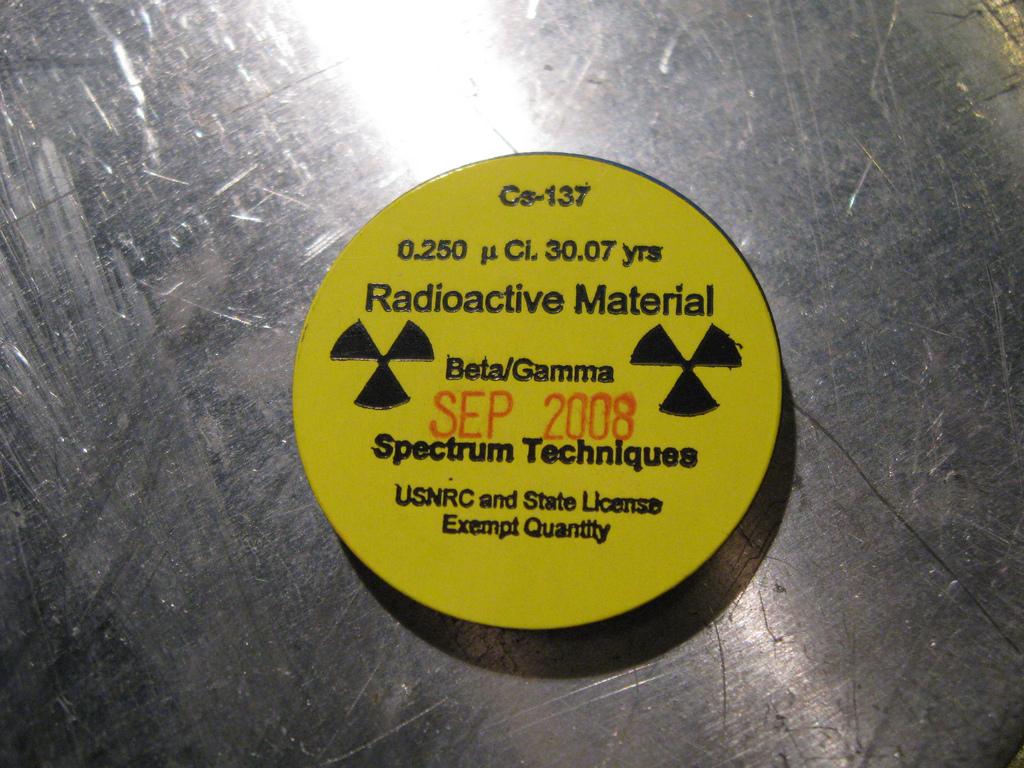 Цезий-137 (радиоактивный изотоп цезия)