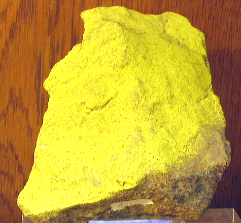 Карнотит - водный уранованадат калия