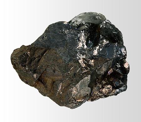 Минерал колорадоит (coloradoite) - теллурид ртути HgTe