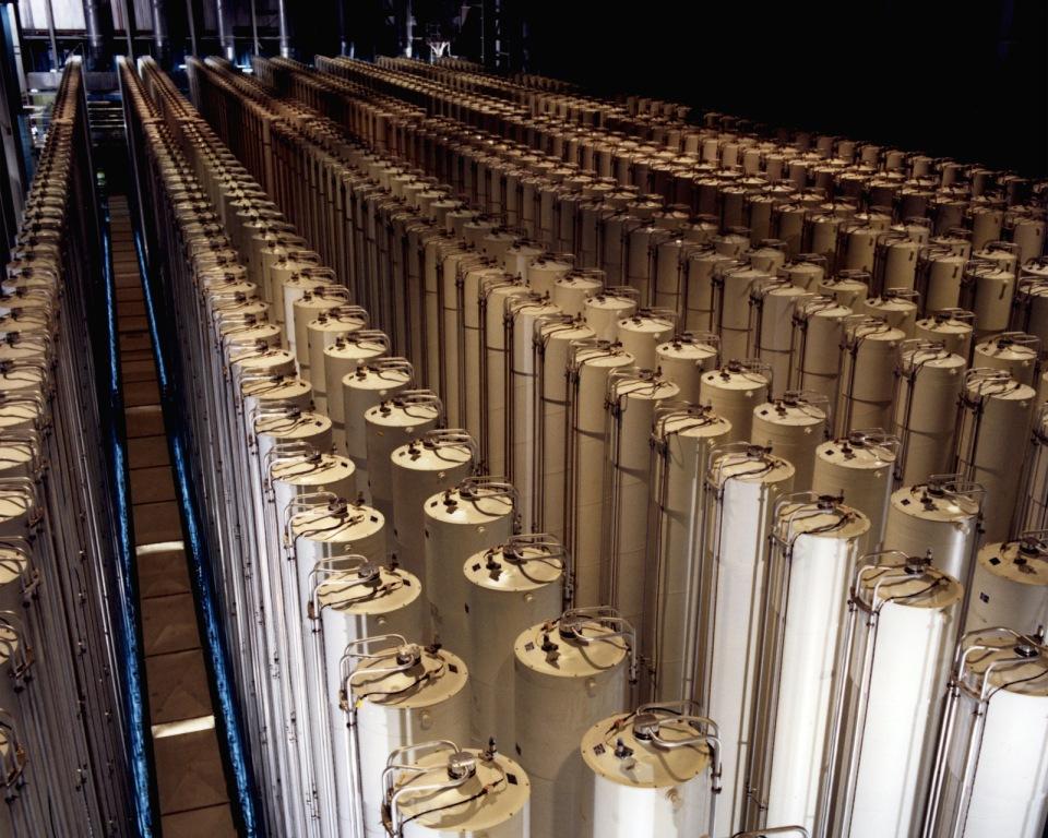 Каскад газовых центрифуг для производства обогащенного урана