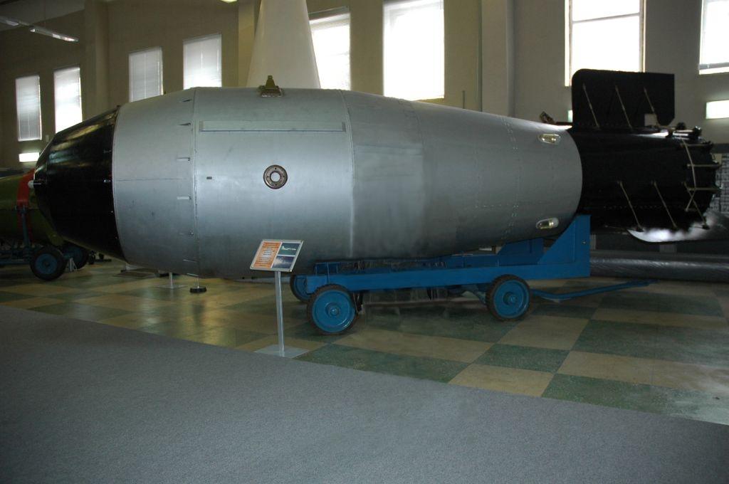 Советская водородная бомба А602