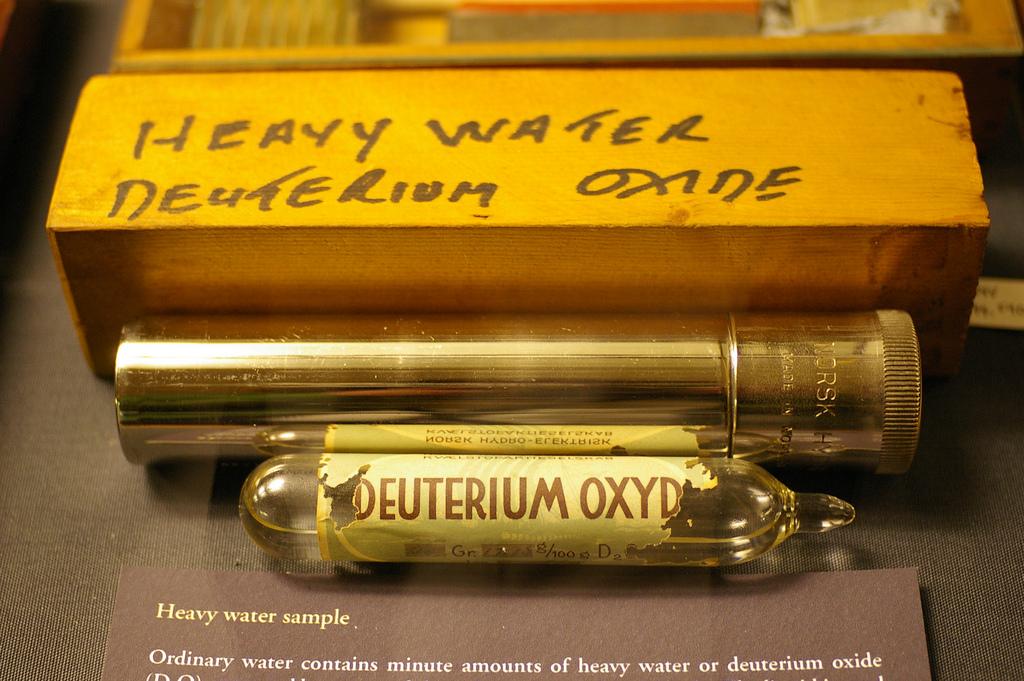Тяжелая вода (оксид дейтерия D2O)
