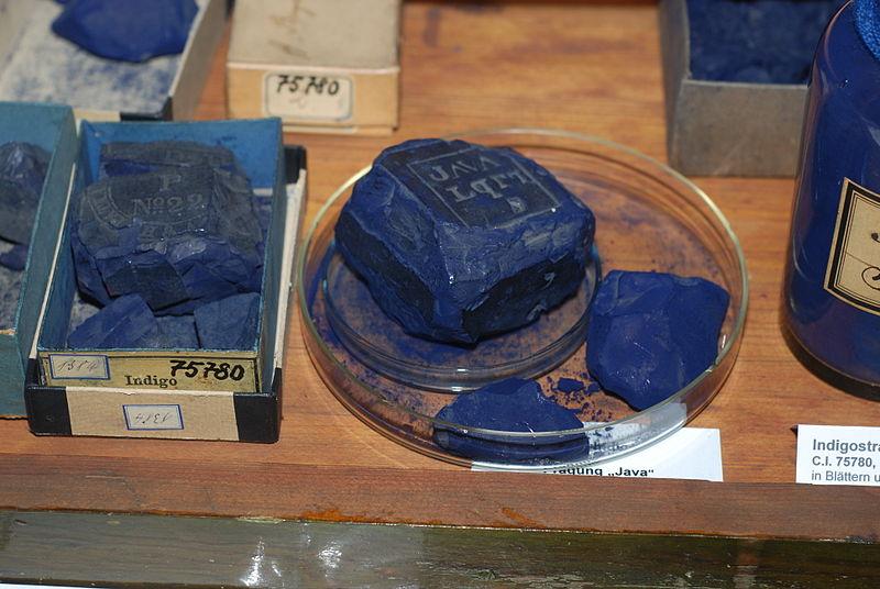 Индиго - сине-фиолетовый краситель, который совершенно не содержит индия