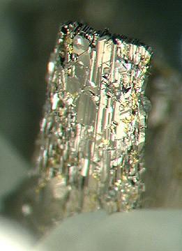 Минерал креннерит - теллурид золота AuTe2