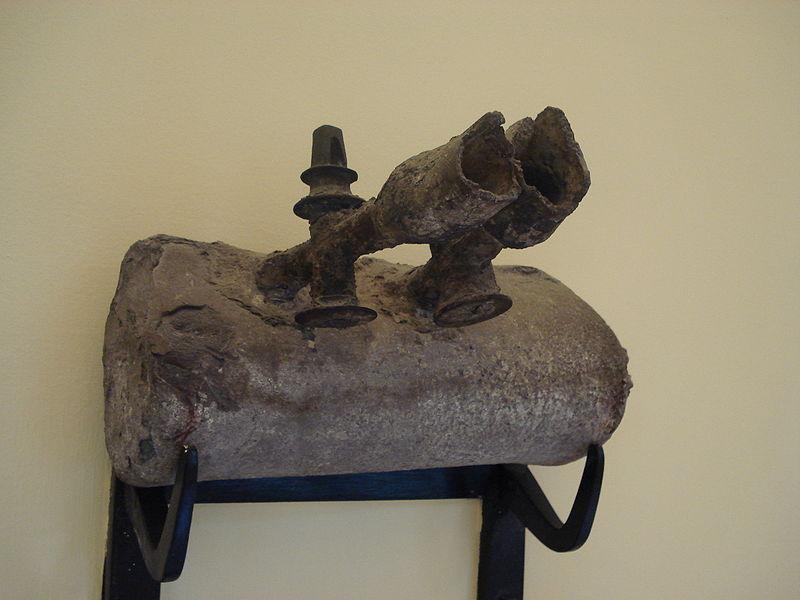 Римские свинцовые трубы с кранами