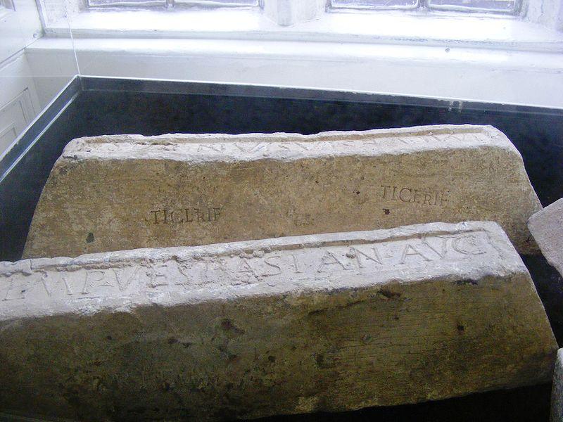 Свинец (слитки времен римской Британии)