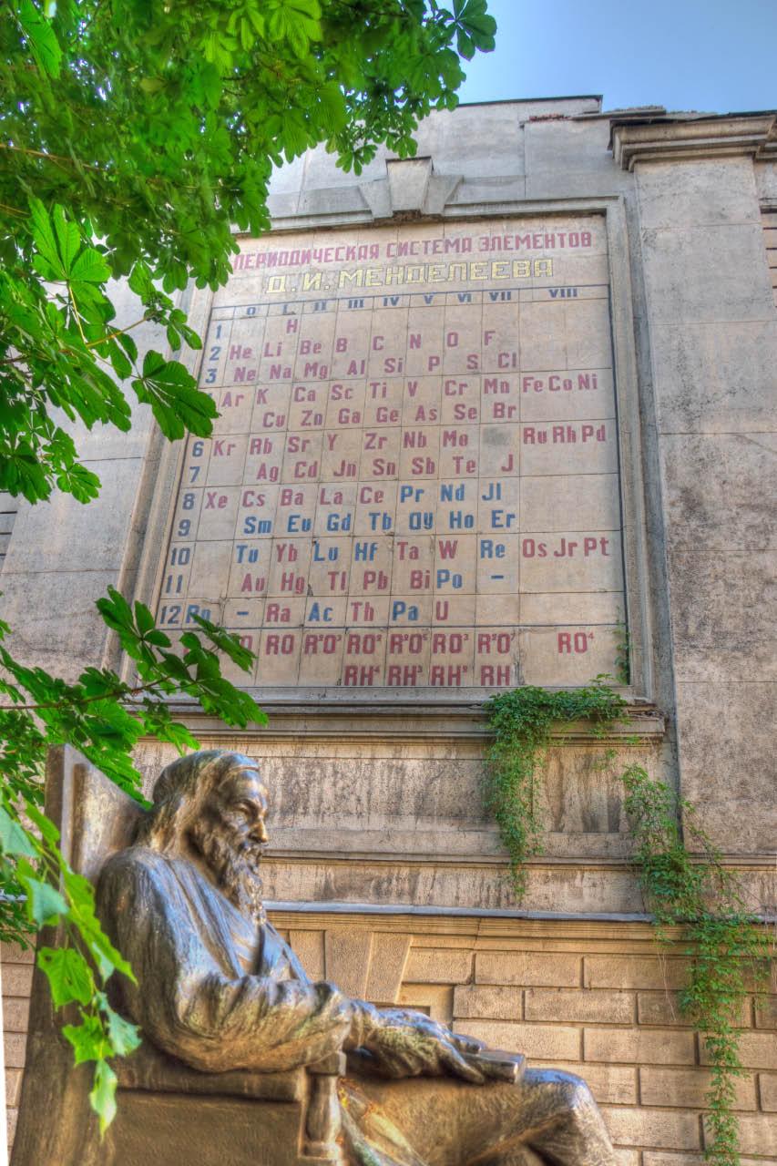 Памятник Д. И. Менделееву в Санкт-Петербурге