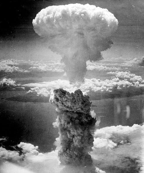 Взрыв плутониевой бомбы над Нагасаки