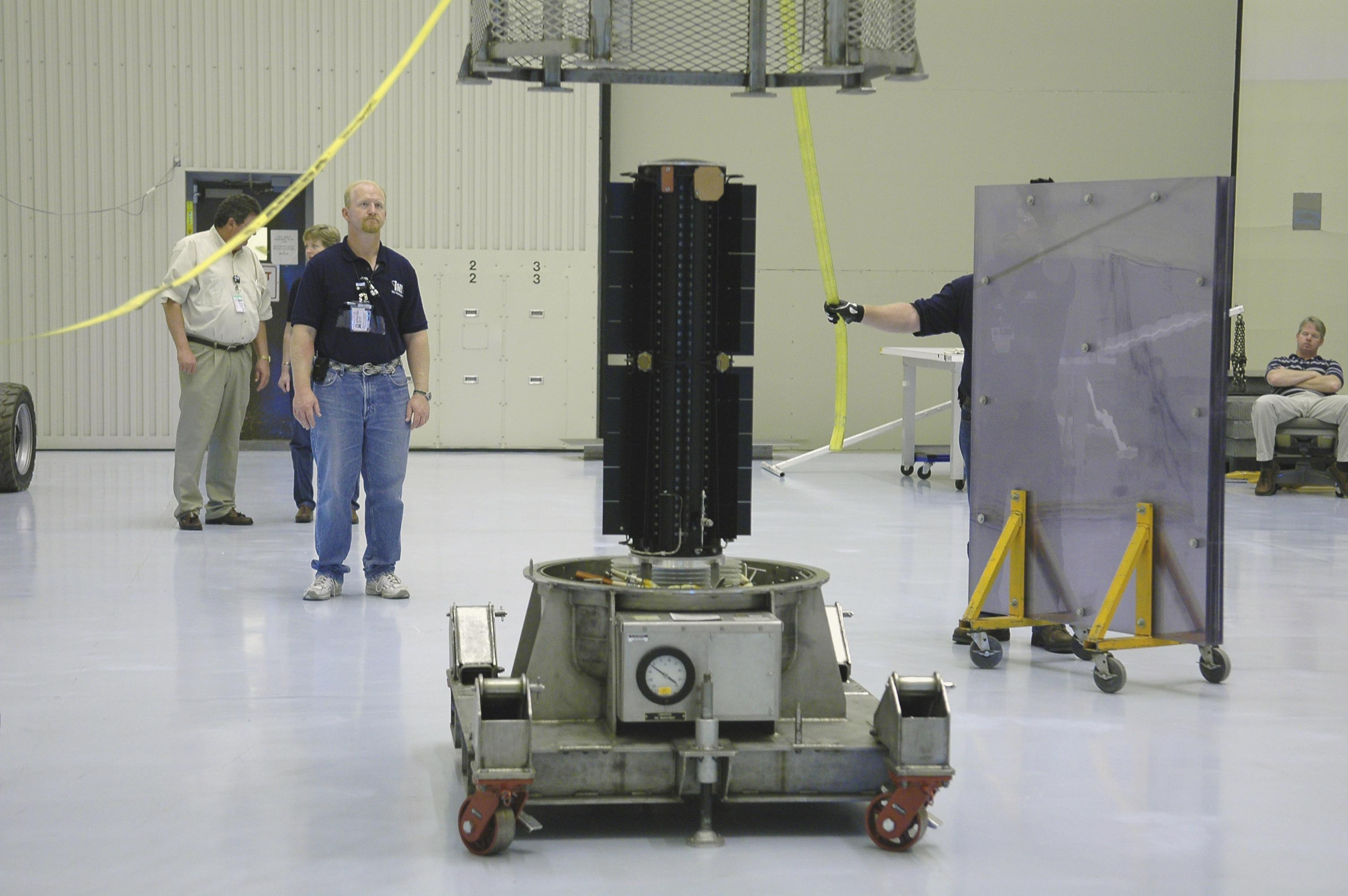 Радиоизотопный термоэлектрический генератор космического аппарата Новые Горизонты (New Horizons), который был запущен в 2006 г. к Плутону