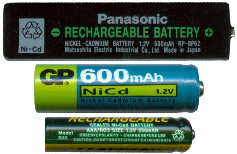 Никель-кадмиевые аккумуляторы