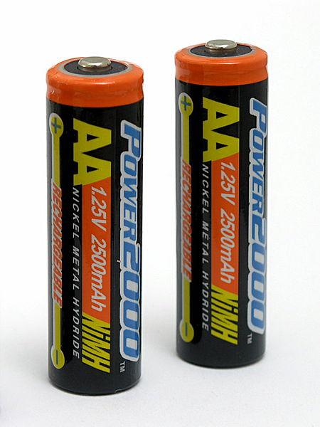 Никель-металл-гидридные аккумуляторы (Ni-MH)