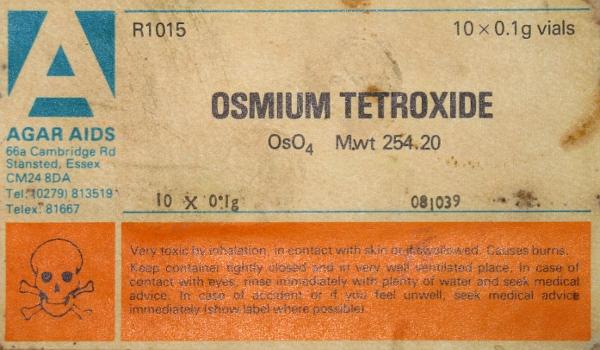 Оксид осмия (VIII) [тетраоксид осмия OsO4]