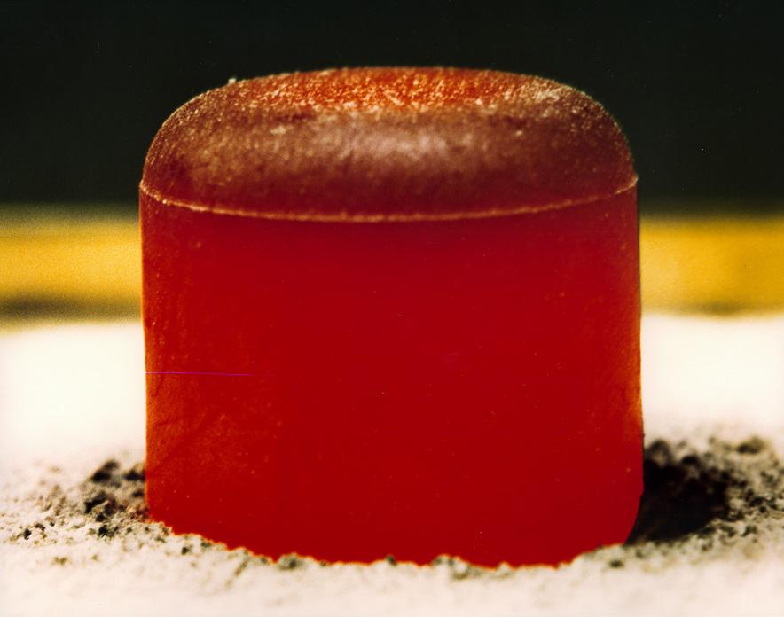 Свечение диоксида плутония-238 238PuO2