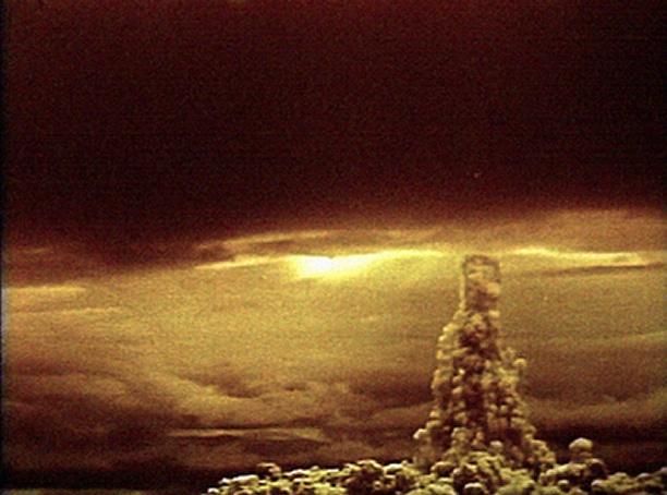 Взрыв водородной бомбы на Новой Земле
