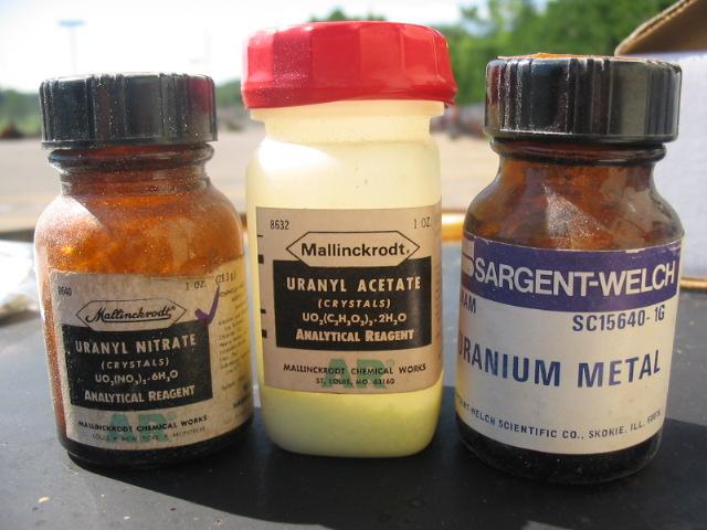 Уран и соли урана