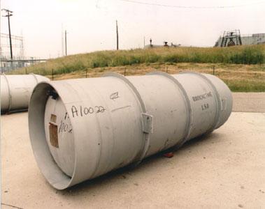 Емкость с гексафторидом урана UF6