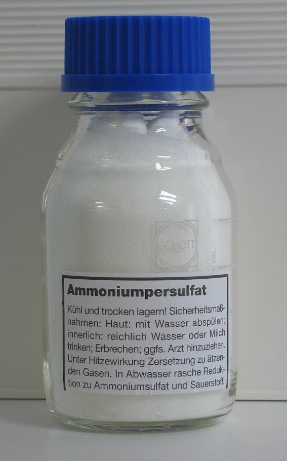 Персульфат аммония