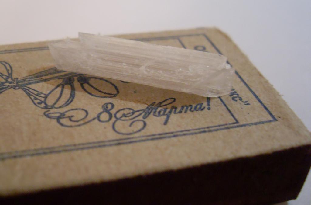 Кристалл перхлората аммония
