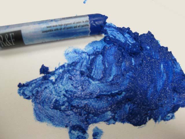 Пигмент марганцевая голубая