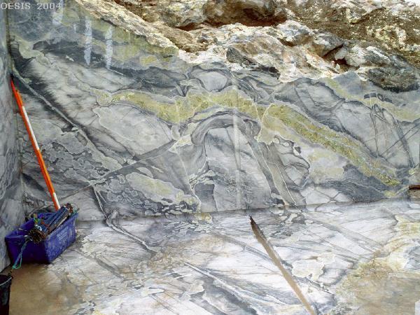 Мрамор - карбонат кальция