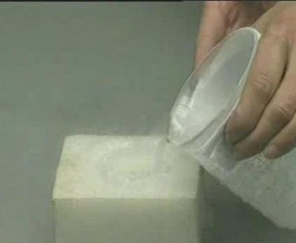Замораживание ртути жидким азотом