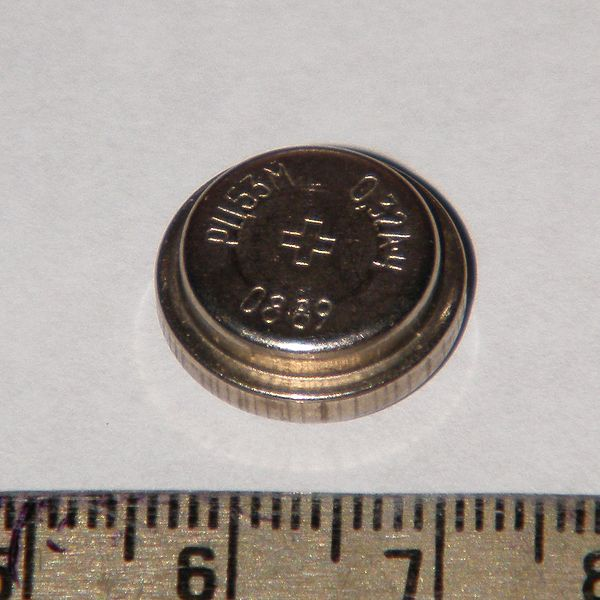 Ртутно-цинковый элемент РЦ-53М (1989 год)